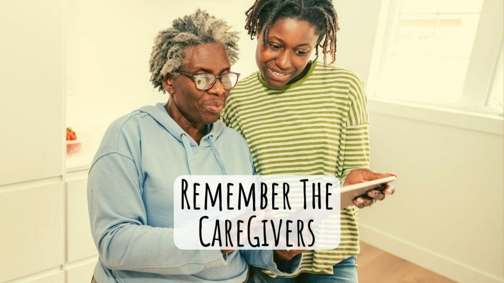 Cancer Caregivers Need To Take Care Of Themselves Too!