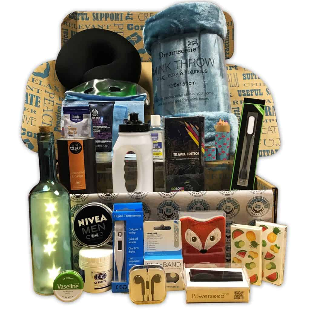 Deluxe Gift Box For Men With Cancer