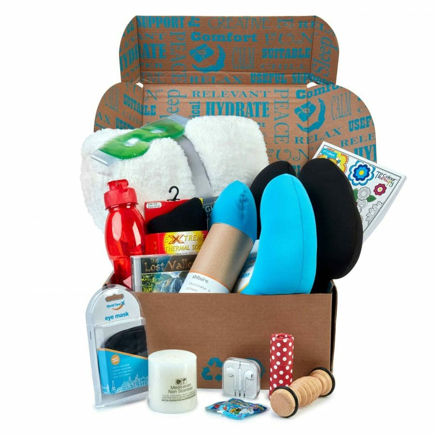 Deluxe Cancer Comfort Gift Hamper For Adults