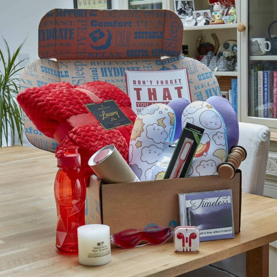 The Romantic Cancer Care Love Box | For Adults