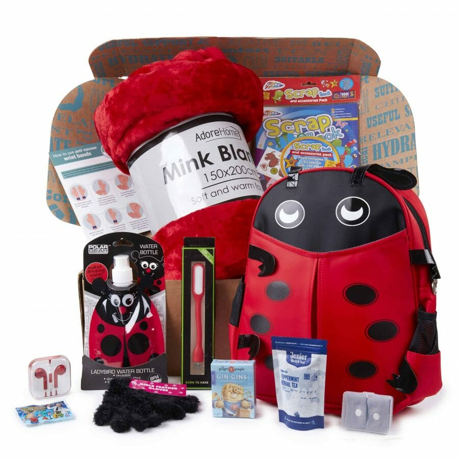 Chemo Care Package For A Child | Ladybird Gift Box