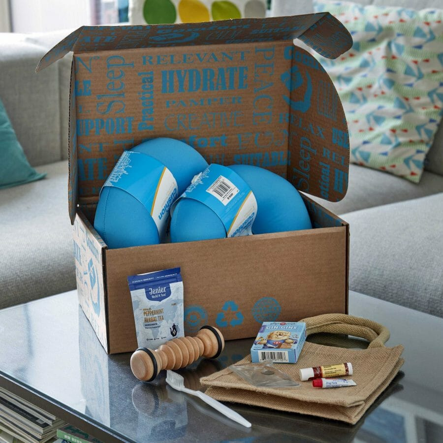 Lifestyle Image Of Chemo Gift Pack