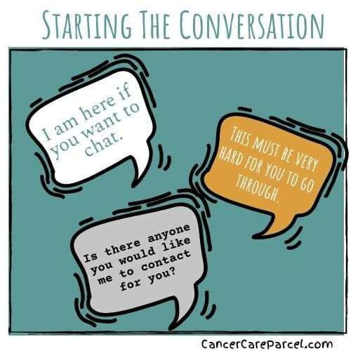 Starting The Conversation With A Cancer Patient
