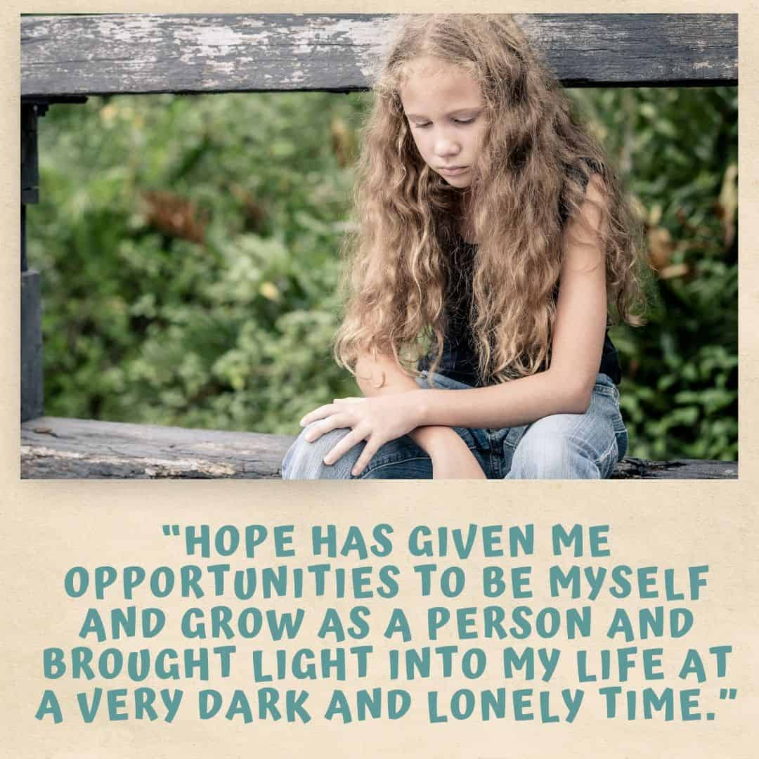 Hope: Supporting Young People With Seriously Ill Loved Ones
