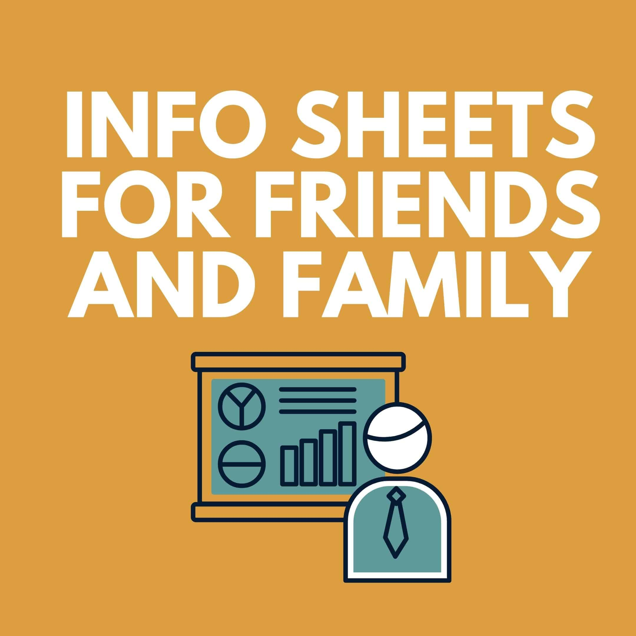 Information Sheets For Friends And Family With Cancer
