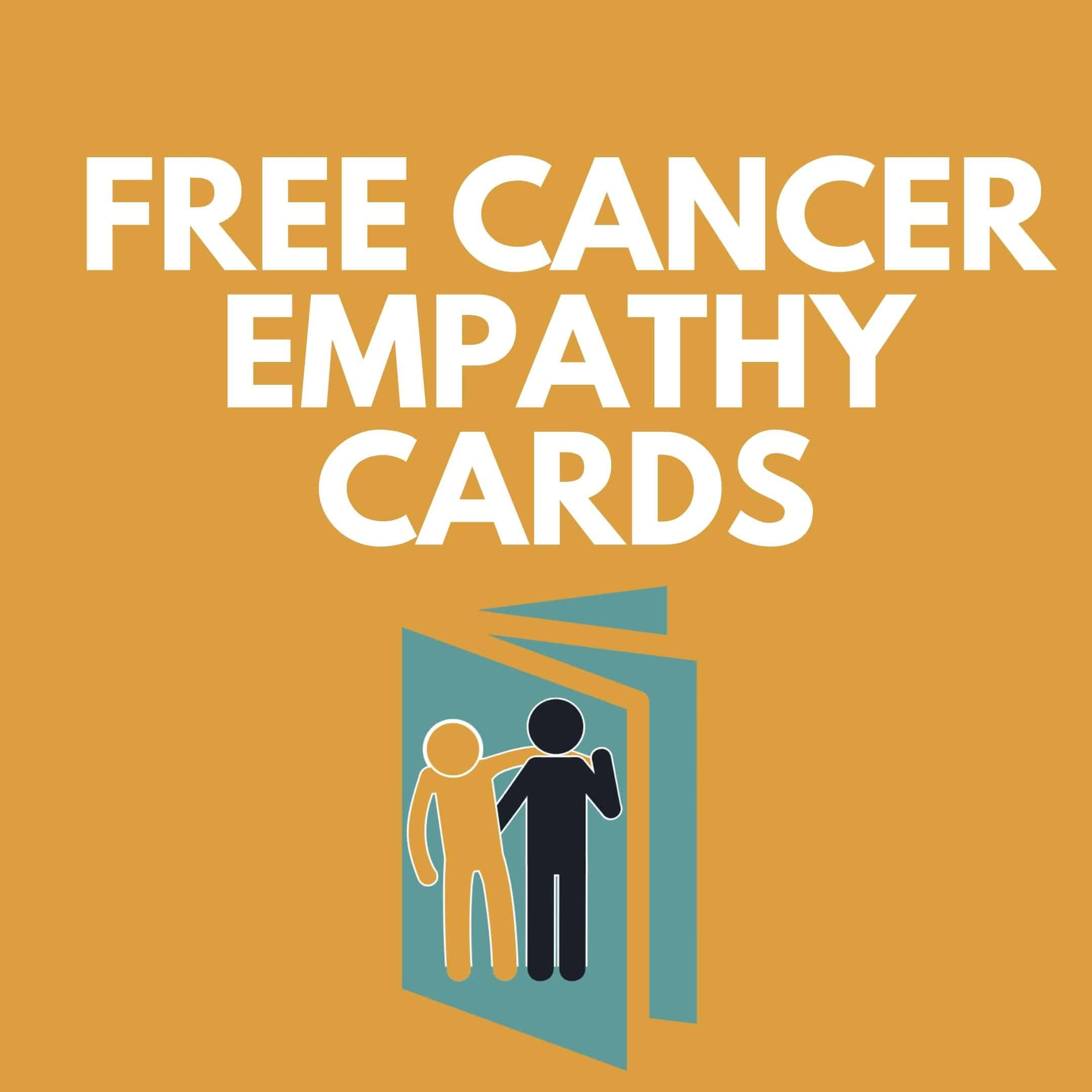 Free Cancer Empathy Cards