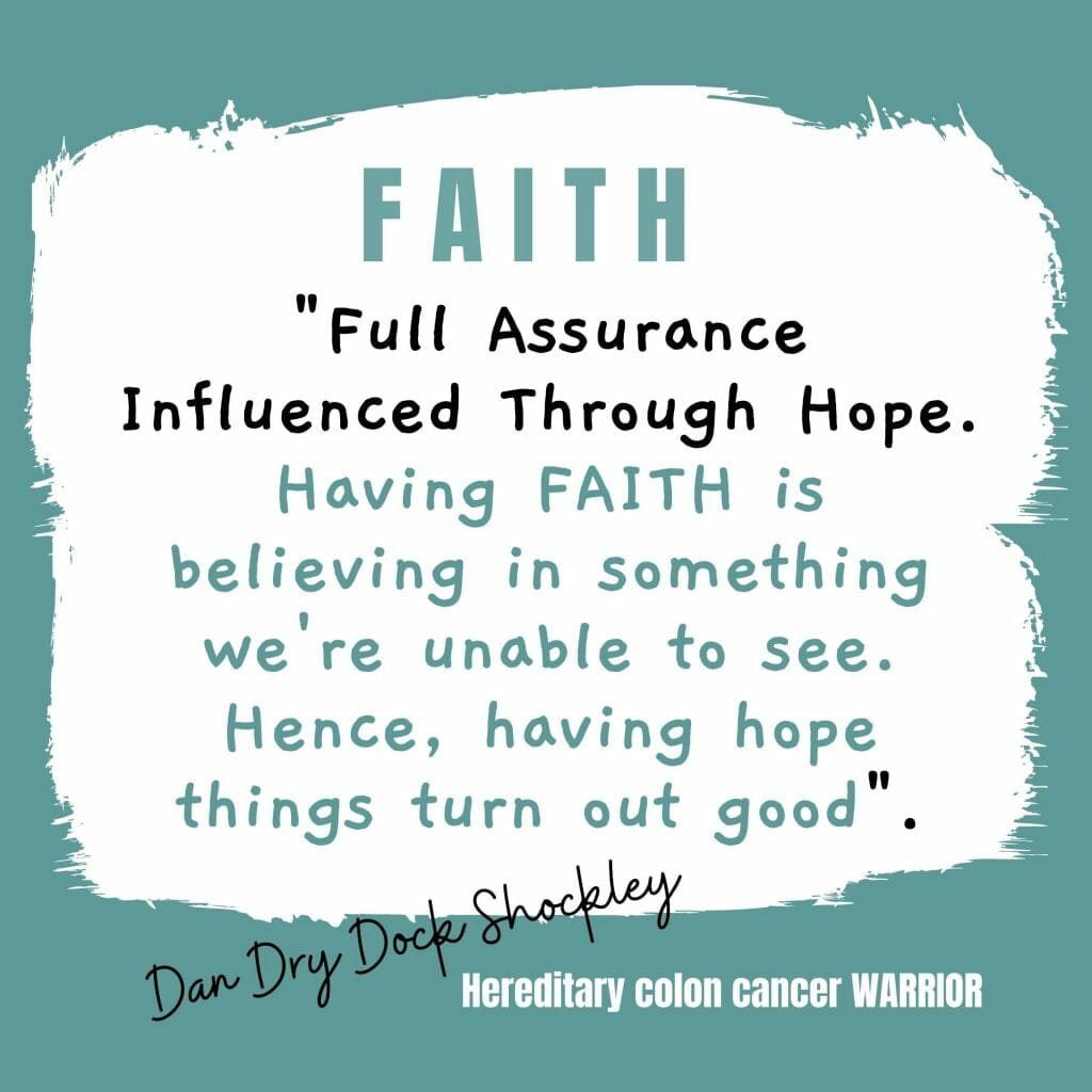 A Colon Cancer Warrior's Journey - Forging Ahead With A Purpose