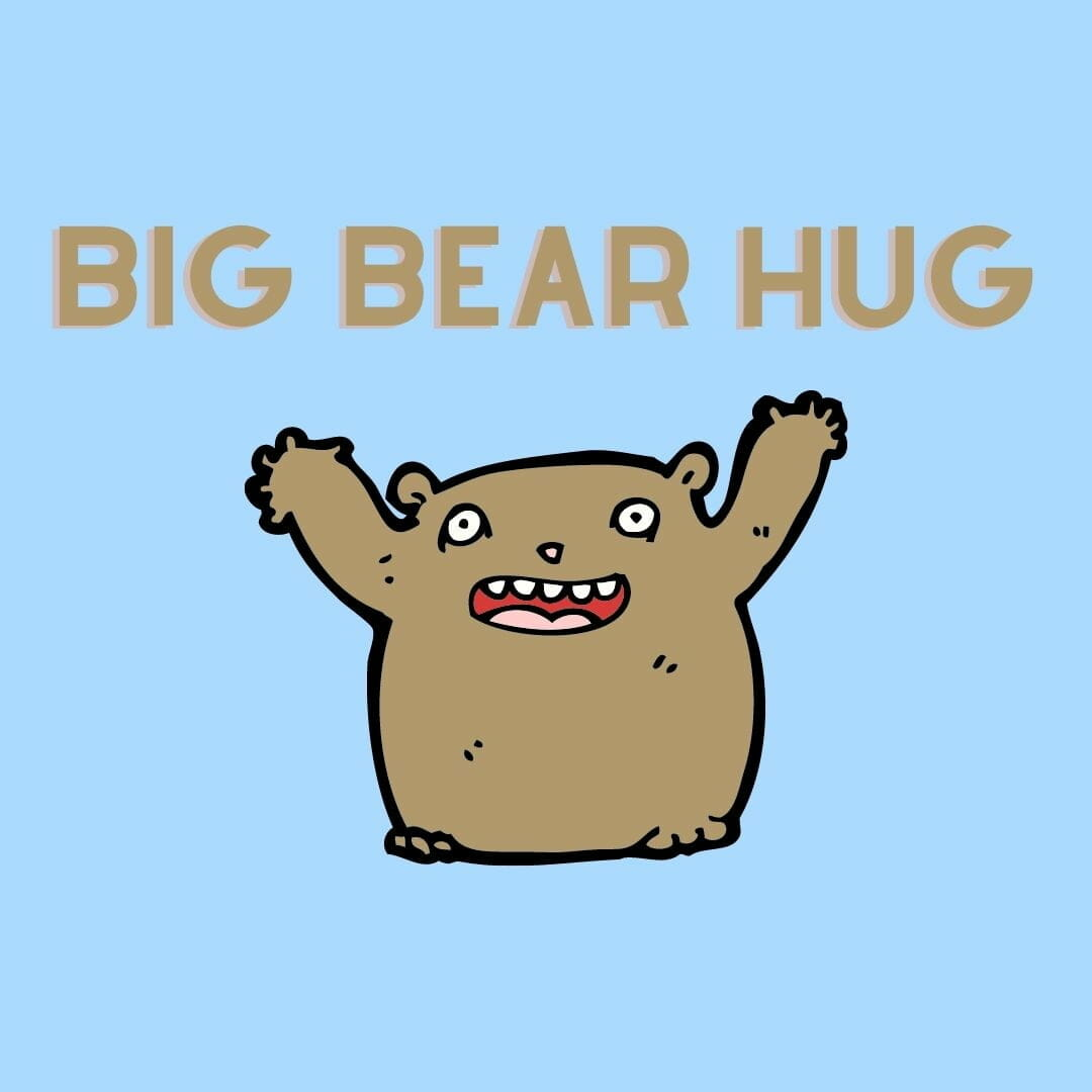 Cancer Cards For Patients - Free Big Bear Hug