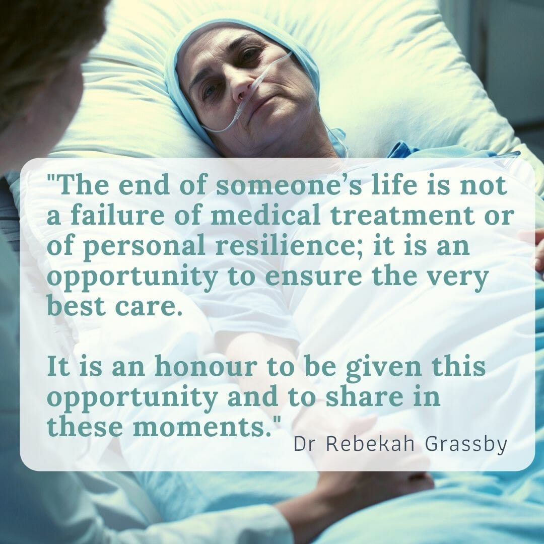 Explaining End Of Life Care From A Cancer Doctor'S Perspective