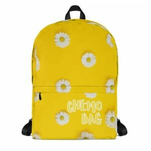 All Over Print Backpack White Front 61756D8A4Dcd1