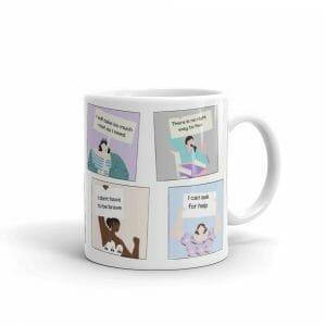 White Glossy Mug 11Oz Handle On Right 61656A6064Efe