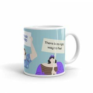 White Glossy Mug 11Oz Handle On Right 61656Bc55F1A2